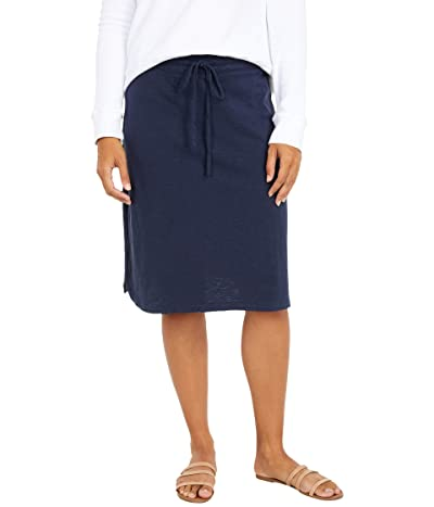 Mod-o-doc Slub Jersey Drawstring Skirt (Twilight) Women