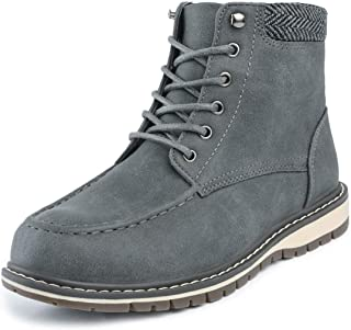 Bruno Marc Boys Classic Ankle Work Boots(Toddler/Little Kid/Big Kid)