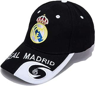 Real Madrid F.C. -Embroidered Authentic EPL Adjustable Black Baseball Cap