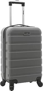 """Wrangler 20 """"Hardside Spinner که چمدان را حمل می کند"""