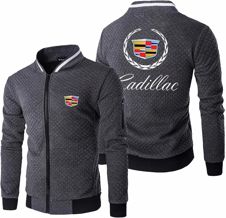 BOUTIQUE GIFT Men's Baseball Jacket Ultra-Cheap Deals Cadillacs Printing Austin Mall Uniform R