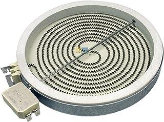 Radiador de cristal y cerámica, 180 mm de diámetro, 1700 W, 230 V, jacuzzi 481231018889