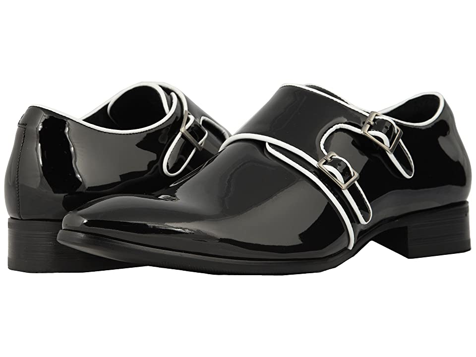 Mens Vintage Style Shoes| Retro Classic Shoes Stacy Adams Valens BlackWhite Mens Shoes $70.00 AT vintagedancer.com