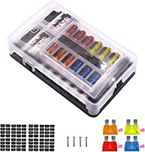 [DIAGRAM_5FD]  Amazon.com: 12 volt fuse blocks | 12 Volt Fuse Box |  | Amazon.com