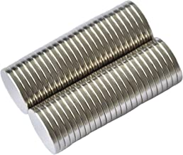 LTKJ 20pcs Disc Countersunk Ring Magnets 15mmx5mm,Magnets with Holes 5mm