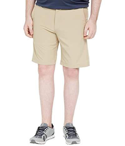 Johnston & Murphy XC4 Performance Heather Shorts (Khaki) Men
