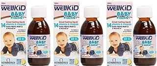 (3 PACK) - Vitabiotic - Wellkid Baby Syrup | 150ml | 3 PACK BUNDLE