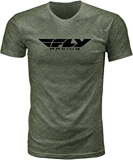 Camiseta Corporativa Fly Racing (GG) (Moss Heather)