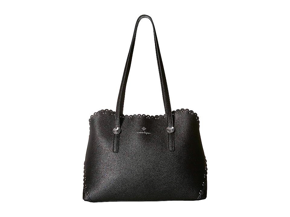 Nanette Lepore Abigail Shoulder Bag (Black) Bags