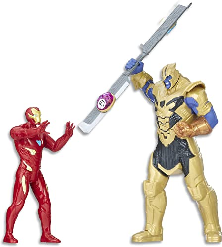 Marvel Avengers  Infinity War Iron Man vs. Thanos jeu de bataille 15cm Figurine