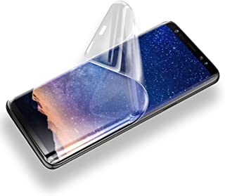 TERSELY Screen Protector for Samsung Galaxy S9, Full Coverage HYDROGEL Aqua Flex Case Friendly Screen Protector 0.18mm Thi...