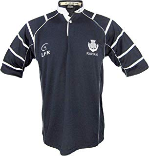 Silky Sullivan Collection Men's Tartan Terror Scotland Rugby Jersey