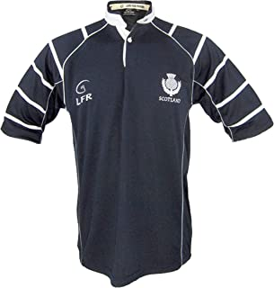 Live for Rugby Mens Scotland Breathable Rugby Shirt