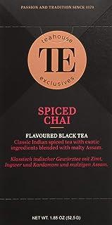 Teahouse Exclusives Luxury Tea Bag Spiced Chai, 52.9 g
