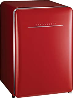 Daewoo Single Door Refrigerator 100 Liters Red FN-102R, 1 Year Warranty