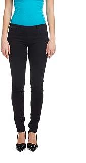 Women's Skinny Denim Pants - Pull On -Tummy Tucker
