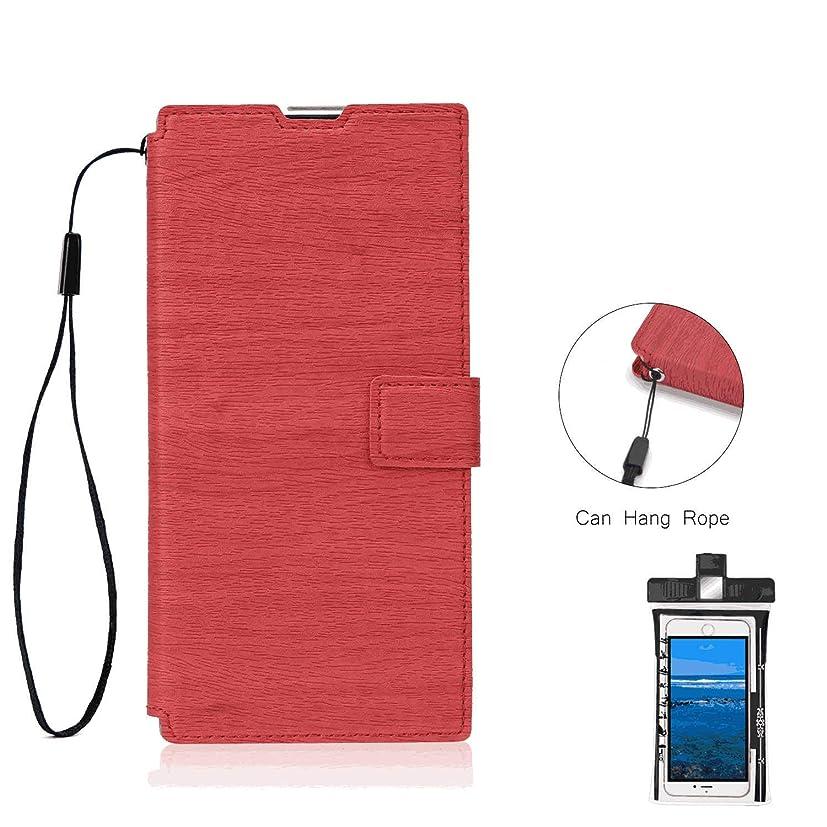つまらない悪性の記念碑的な手帳型 アイフォン iPhone X ケース 本革 レザー スマホケース スマートフォン 財布 カバー収納, 無料付防水ポーチケース