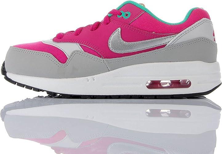 Nike Air Max 1 Chaussures Unisexes pour Enfant - Rose - Fuchsia ...