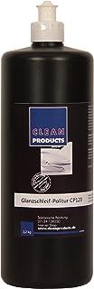 CLEANPRODUCTS Auto Politur CP120 Medium Cut   1,2 kg   Autopolitur zur Autoaufbereitung. Fehlstellen, Kratzern, Verwitterungsspuren entfernen
