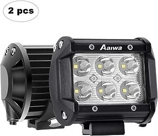 LED Light Bar AAIWA 18W LED Fog Lights Driving Light 2 PCS LED Pods Off Road Lights 4