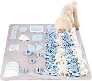 Snuffle Mat for Small Large Dogs Nosework Feeding Mat Easy to Fill and Machine Washable Training Mats Pet Activity/Toy/Pla...