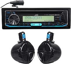 JVC KD-R99MBS Marine Bluetooth CD Player Receiver+(2) 8