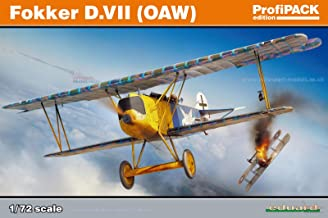 Eduardo 1/72 German Air Force Fokker D.7 (OAW) / EDU70131 1:72 Eduard Fokker D.VII (OAW) ProfiPACK Edition [Model Building KIT]