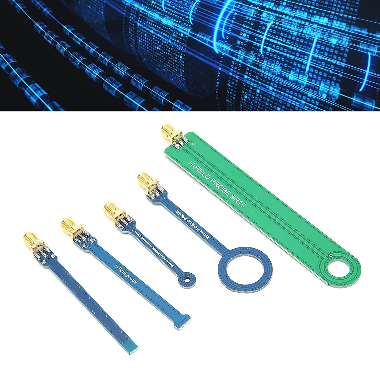 Max 57% OFF Super sale period limited Magnetic Field Probe Printed Circuit Working Board 9 Frequency