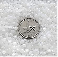 Victory Pellets Flat Cut (10 LBS) Plastic Poly Pellets for Weighted Blankets, Rock Tumbling, Reborn Dolls, Stuffed Animals, Plush Toys, Crafts and Draft Stoppers. Washer & Dryer Safe. Made in USA.