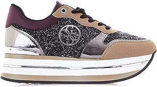 Guess Luxury Fashion Womens FL7HN4FAM12 Brown Sneakers   Fall Winter 19