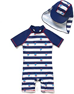 Best baby swimwear with hat Reviews