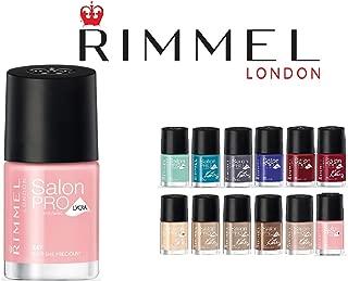 Lot of 10 Rimmel London Salon Pro Finger Nail Polish Color Lacquer All Different Colors No Repeats