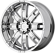 HELO HE835 Rim 17X8 8X6.5 Offset 0 Chrome (Quantity of 1)