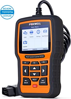 FOXWELL Automotive Diagnostic Scanner NT510elite Obd2 Full System Code Scan Tool with Full Special Functions for Toyota Vehicles