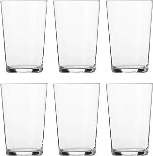 Schott Zwiesel BASIC BAR SELECTION 6-teiliges Softdrinkglas Nr.2 Set Becher, Glas, transparent, 29.4 x 20.4 x 14.5 cm, 6-Einheiten
