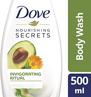 Dove Invigorating Body Wash Avocado, 500ml