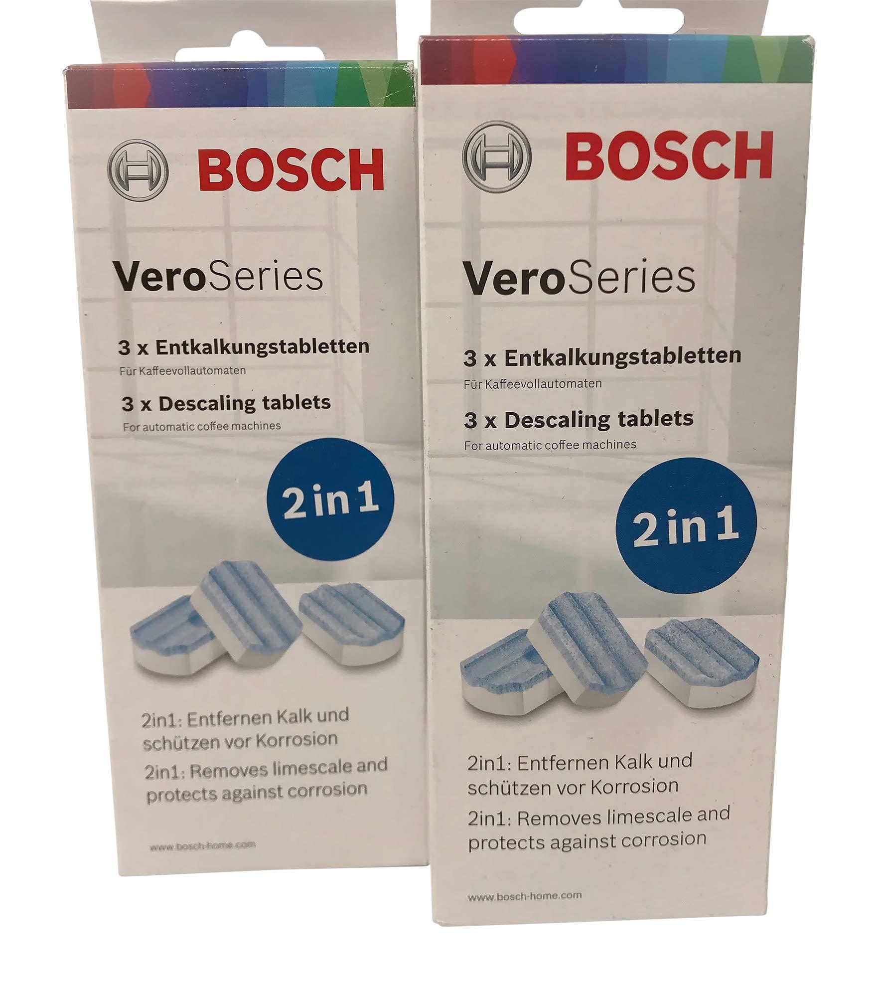 Bosch VeroSeries TCZ8002 Pastillas antical 2 en 1 para cafeteras automáticas, 2 unidades: Amazon.es: Hogar