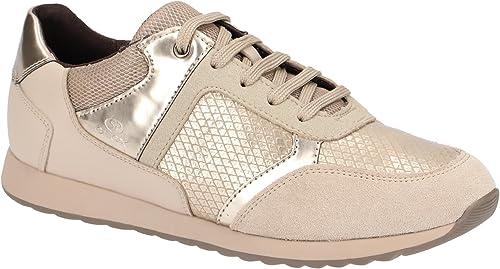 Geox Geox D846FC 004AU C6029, Chaussures à Lacets et Coupe Classique Femme