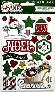 Here Comes Santa - Chipboard Stickers - PhotoPlay