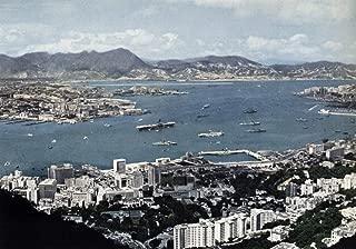 Home Comforts The U.S. Navy Aircraft Carrier USS Bennington (CVS-20) at Hong Kong in 1962. Bennington, with Assign Vivid Imagery Laminated Poster Print 24 x 36