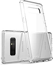 i-Blason Case Designed for Galaxy Note 8 2017 Release, [Scratch Resistant] Clear [Halo Series] Hybrid Bumper Case Cover (Clear)