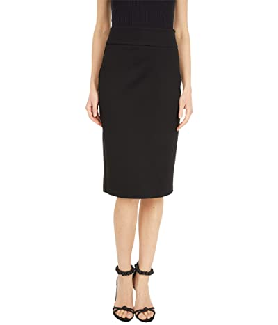 MICHAEL Michael Kors Slim Fit Pencil Skirt (Black) Women