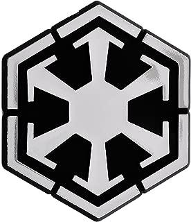 Sith Logo Chrome Auto Emblem - 3