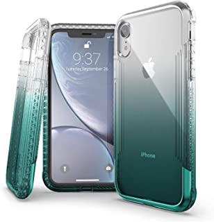 X-Doria Defense Air, iPhone XR Case - Military Grade Drop Tested, Anodized Aluminum, TPU, and Polycarbonate Protective Case for Apple iPhone XR, 6.1 Inch LCD Screen (Teal)