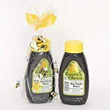 California Raw Star Thistle Honey 16Oz / 1LB / 453g Pure 100% Natural Grade A Gift Wrapped - Pack Of Two