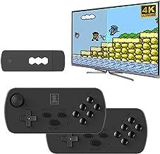 hooks Console de jeu rétro, 3500 intégré, console de jeu classique 4 K HDMI, Plug and Play, mini console de jeu rétro, man...