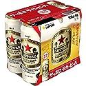 サッポロ ラガービール 500ml×6本