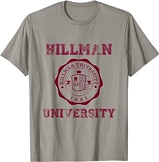 Hillman University T Shirt