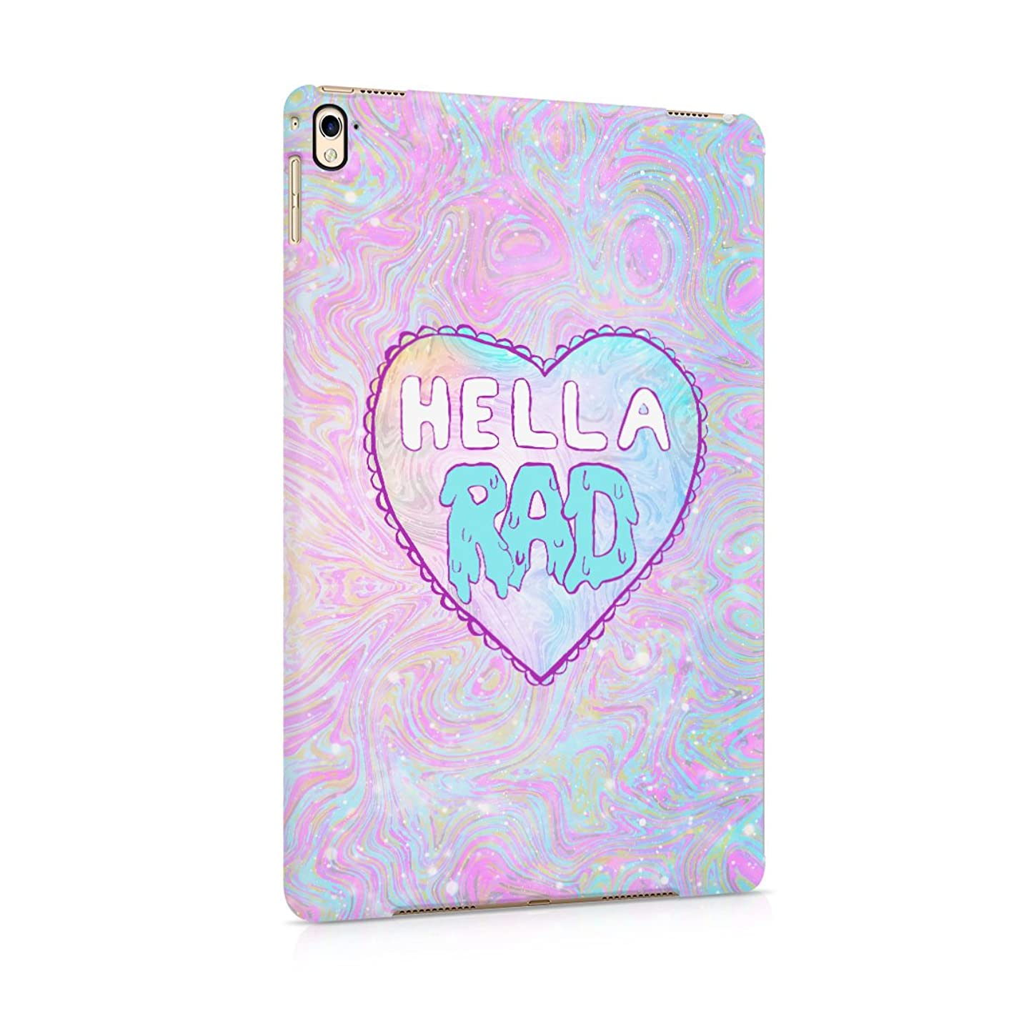 Hella RAD Psychedelic Tie Dye Hard Plastic Tablet Case For iPad Pro 9.7