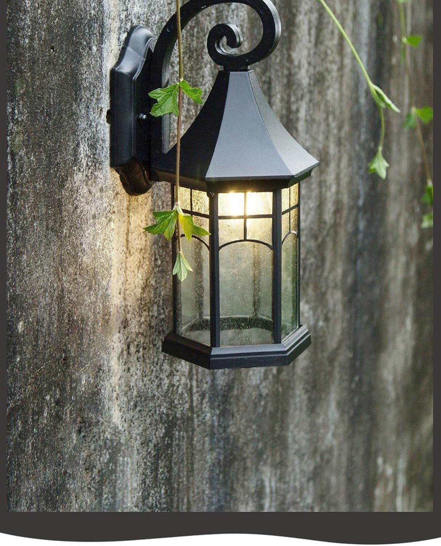 Ehime Auenwandleuchten Auenbeleuchtung Wegeleuchten Laternen für den Garten Auen-Wandleuchte antike Villa Flur Wand leuchten Auenbeleuchtung auen Innenhof.